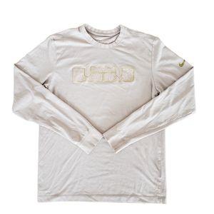 Nike Lebron James Light Mauve Shirt - Medium